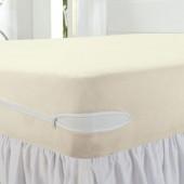 Capa protetora para colchão de Casal 20cm Essencial Brilhante