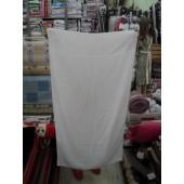 Pacote com 12 Toalha Donna Banho 67x128cm Felpuda Branca