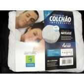 Protetor Impermeável para Colchão Linha Especial em Matelassê Casal Central do Alérgico