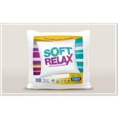 Enchimento/Recheio/Refil para capa de Almofada Soft Relax 60x60cm Trisoft