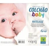 Protetor de Colchão Impermeável Baby Central do Alérgico para Berço