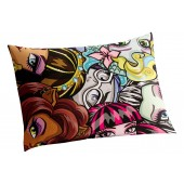 Fronha Avulsa Monster High Estampada p/ Travesseiro 50x70 Lepper