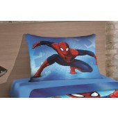 Fronha Avulsa Spider Man Ultimate Estampada p/ Travesseiro 50x70 Lepper