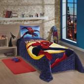 Manta Fleece Spider Man Ultimate (Homem Aranha) Estampada Solteiro Lepper