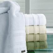 Toalha Supreme Rosto Branca 001 50x80cm Algodão Egípcio Buettner