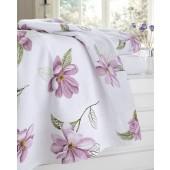 Toalha de Banho Florise Margareth Rosa 496993 001 Estampada