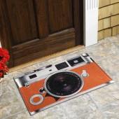 Capacho Vinil Art My Door Divertido 40x60 Camera Fotográfica Kapazi