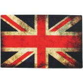 Capacho Vinil Art My Door Divertido 40x60 Bandeira da Inglaterra Kapazi