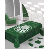 Cobertor Raschel Palmeiras Solteiro 1,50x2,20m Jolitex