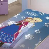 Cobertor Raschel Juvenil Frozen Solteiro 1,50x2,00m Jolitex