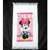 Toalha Estampada Visita Disney Minnie 22x41cm Santista