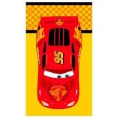 Toalha Estampada Banho Disney Carros Radiator 70x1,20m Santista