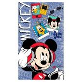 Toalha Estampada Banho Disney Mickey 70x1,20m Santistata