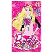 Toalha Estampada Banho Disney Barbie 70x1,20m Santista