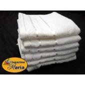 Pacote com 12 Toalhas de Rosto Brancas Royal Knut Santista