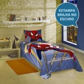 Colcha Simples Estampada Spider-man The Amazing 2 Solteiro Lepper