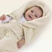 Baby Sac de Microfibra com Relevo Touch Texture Rosa Jolitex