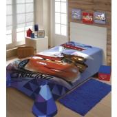 Cobertor Raschel Juvenil Carros Solteiro 1,50x2,00m Jolitex