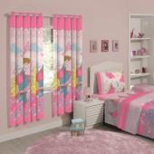 Cortina Infantil Decorativa Disney Princesas Garden 1,80x2,00m Santista