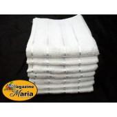 Pacote com 12 Toalhas de Banho Delicata Lisas 70x1,30m Atlântica