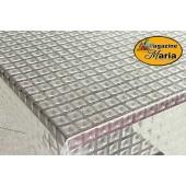 Manta Plástica Transparente 3D Cubos por metro p/ mesa de cozinha ou vidros Kapazi